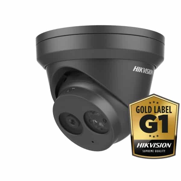 HIKVISION - DS-2CD2355FWD-IB, Zwart, 5MP, 2.8mm, 30m IR, WDR